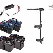 Haswing Protruar 2 PK complete set met 2 accu's, accubakken en acculader