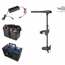 Haswing Protruar 1 PK complete set met 105Ah accu, accubak en acculader