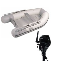 Zodiac Cadet 360 Acti-V Fastroller rubberboot - Complete set met Mercury 8pk