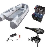 Zodiac Cadet 310 Alu rubberboot met Aluminium vloerdelen - Complete set met Minn Kota endura Max 50 LBS