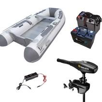 Zodiac Cadet 270 Alu rubberboot met Aluminium vloerdelen - Complete set met Minn Kota endura Max 40 LBS