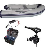 Talamex comfortline 300 rubberboot met airdeck - Complete set met Minn Kota 50 LBS