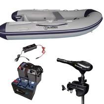 Talamex Comfortline 250 rubberboot met Minn Kota 45 LBS