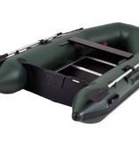 Talamex Greenline 300 rubberboot met houten vloerdelen - Complete set met Talamex 58 LBS fluistermotor