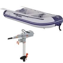 Talamex comfortline 300 rubberboot met aluminium vloerdelen - Complete set met Torqeedo Travel 1003C