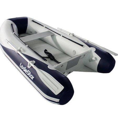 Lodestar NSA 260 Rubberboot met airdeck - Complete set met Mercury 4pk