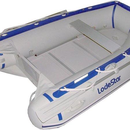 Lodestar NS 250 Rubberboot met kunststof vloerdelen - Complete set met Mercury 4pk