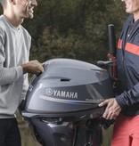 Yamaha Yamaha 25 PK met stuurhendel