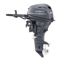 Yamaha 25 PK met stuurhendel