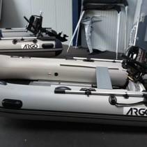 ARGO 320 rubberboot met alumnium vloerplaten - showroommodel