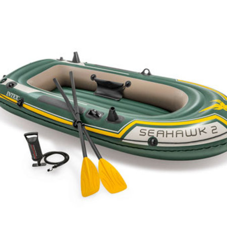 Intex Intex Seahawk 2 Set - Tweepersoons opblaasboot