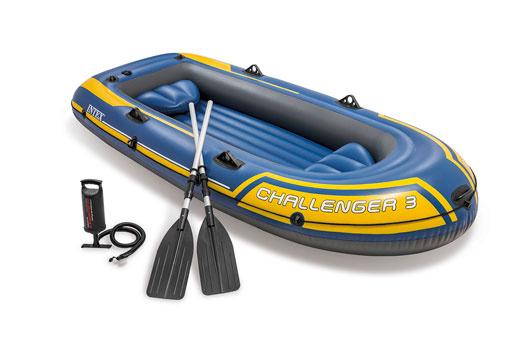 Intex Intex Challenger 3 Set - Met peddels en pomp