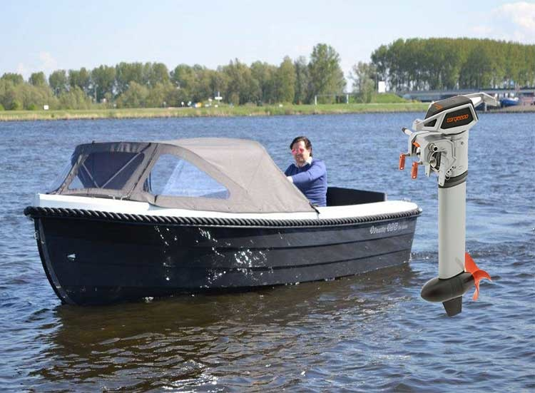 Hedendaags 4 Family 495 de Luxe elektrische sloep met Torqeedo Cruise 4.0 GA-39