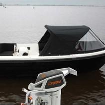Gentle 475 XL elektrische sloep met Torqeedo Cruise 4.0