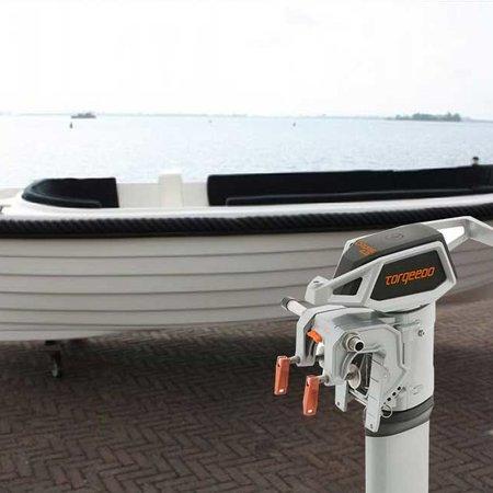Gentle Gentle 535 elektrische sloep met Torqeedo Cruise 4.0