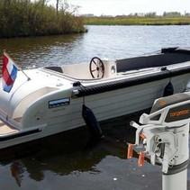 Gentle 555 Tender elektrische sloep met Torqeedo Cruise 4.0