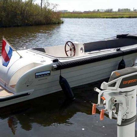 Gentle Gentle 555 Tender elektrische sloep met Torqeedo Cruise 4.0
