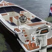 Gentle 710 elektrische sloep met Torqeedo Cruise 4.0