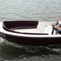 Gentle 440 XL elektrische sloep met Torqeedo Cruise 2.0