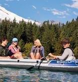Intex Excursion 4 opblaasboot met fluistermotor set