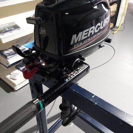 Showroom model Mercury 4 pk 4-takt