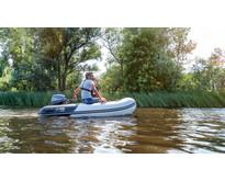 Yam 275S rubberboot met aluminium vloerdelen