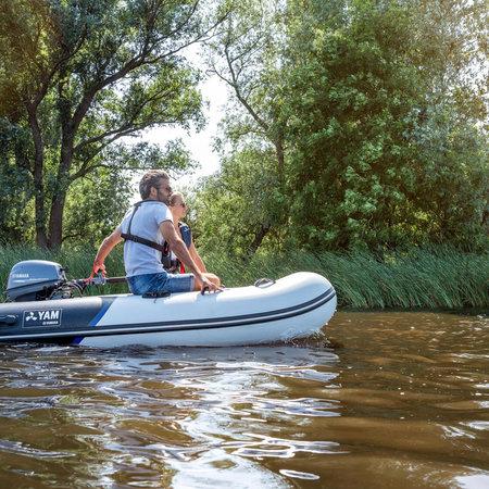 Yam Yam 275S rubberboot met aluminium vloerdelen