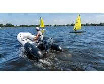 Yam 380S rubberboot met aluminium vloerplaten