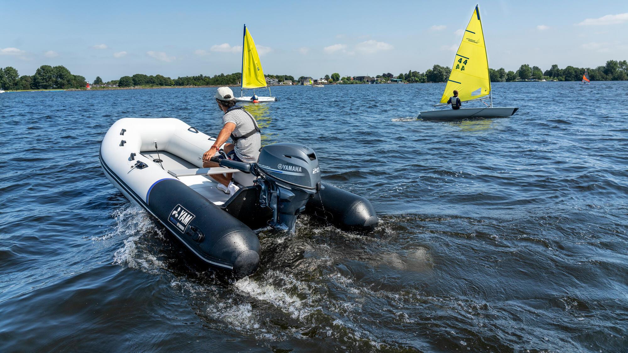 Yam Yam 380S rubberboot met aluminium vloerplaten