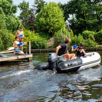Yam 275STi rubberboot