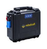 Minn Kota Minn Kota Endura Max 50 complete set met Rebelcell 12.50 AV Outdoorbox en acculader 10A
