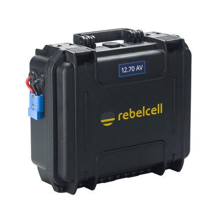 Minn Kota Endura Max 55, Rebelcell 12.70 AV Outdoorbox en acculader 20A