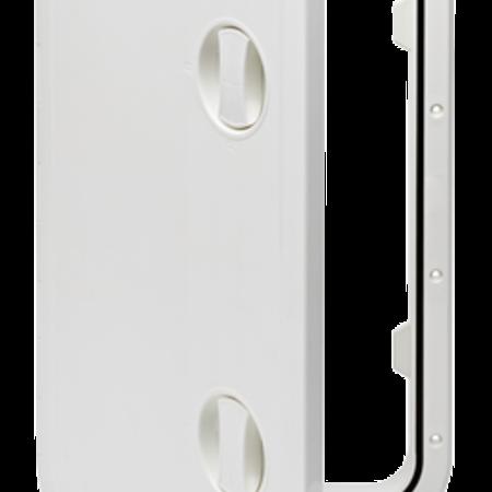Kunststof Luik 606x353mm wit