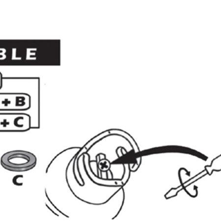 Opzetstuk voor slang luchtpomp (adapter)
