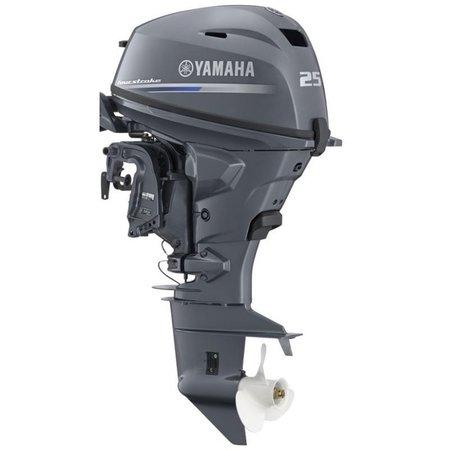 Yamaha Yamaha 25 PK  Langstaart *met afstandsbediening en Elektrische start en Power trim en tilt