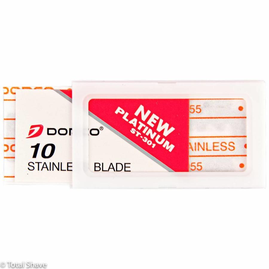 Dorco dubbelzijdige scheermesjes ST-301 met platina coating-3