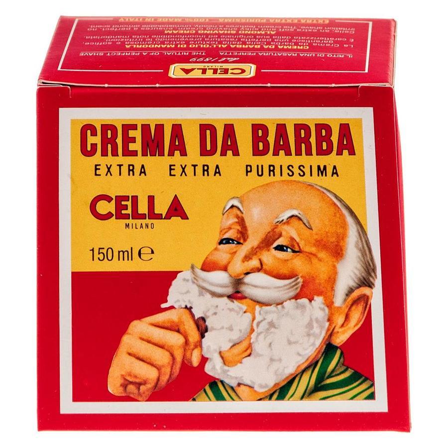Cella Milano scheercrème met de geur van amandelen-3