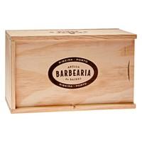 thumb-Antiga Barbearia de Bairro Ribeira scheerset in houten kistje-2