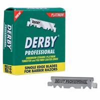 Derby single edge scheermesjes voor gebruik in een shavette