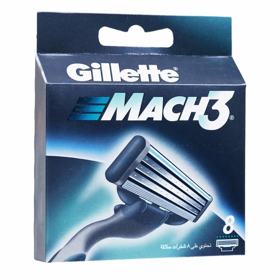 Gillette Mach3 scheermesjes in voordelige 8 stuks verpakking-1