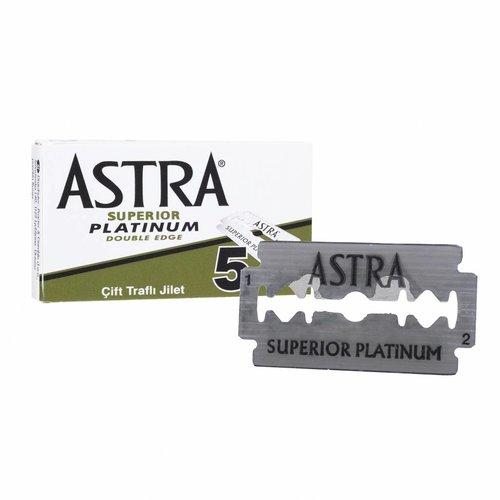 Astra platinum dubbelzijdige scheermesjes