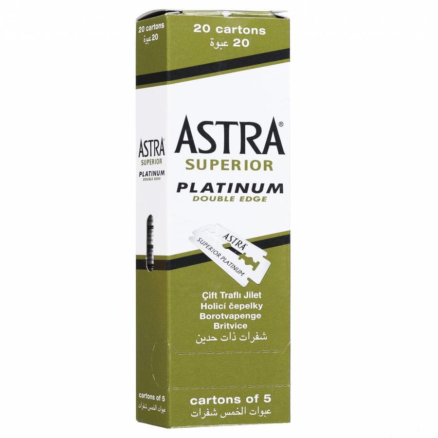 Astra platinum scheermesjes zijn van superieure kwaliteit en gaan lang mee-2