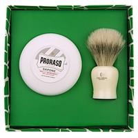 Proraso cadeauset met Vie-Long scheerkwast en scheerzeep