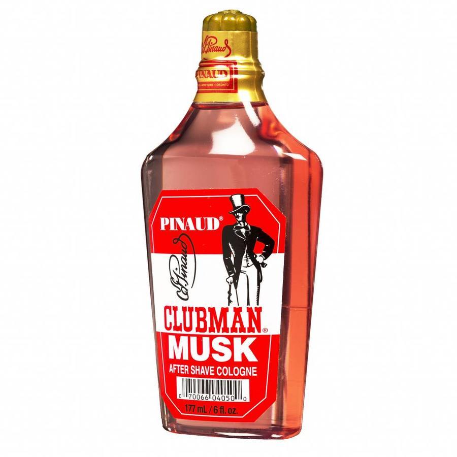 Pinaud Clubman Musk aftershave, een milde en kruidige cologne-1