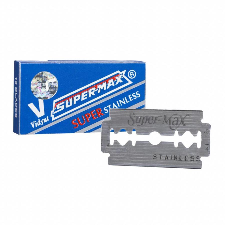 Super-Max super stainless scheermesjes, extra scherp geprijsd-1