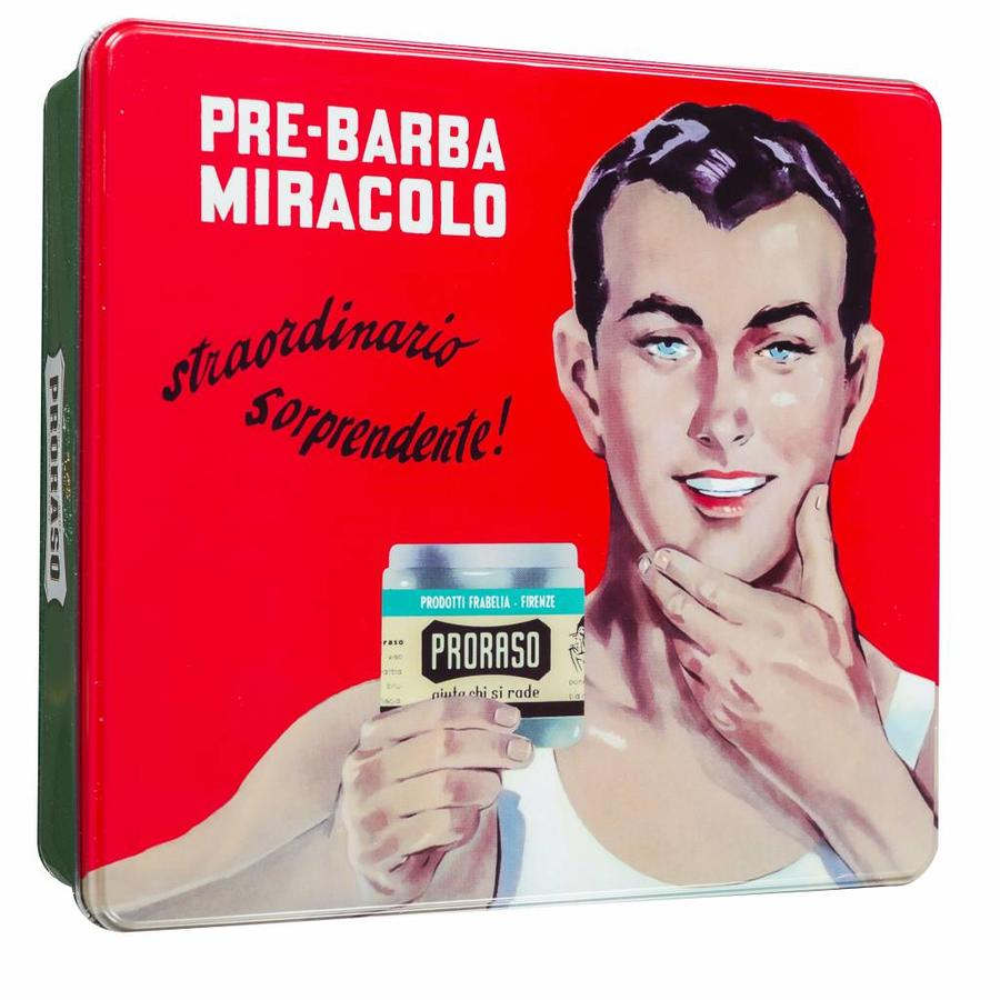 Proraso cadeauset Gino uit de vintage serie-1