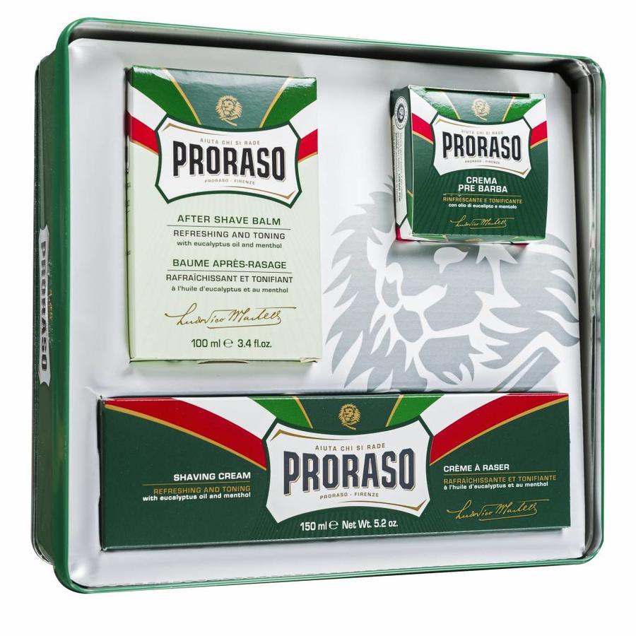 Proraso cadeauset Gino uit de vintage serie-2