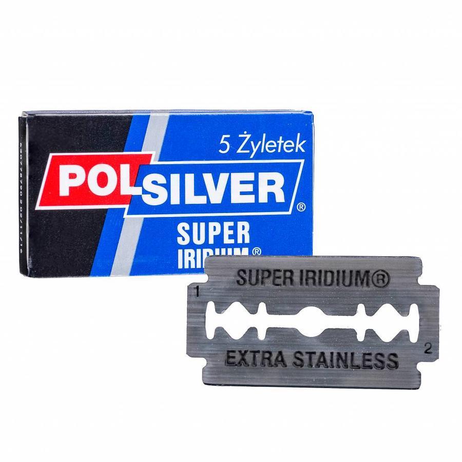 Polsilver super iridium scheermesjes-1