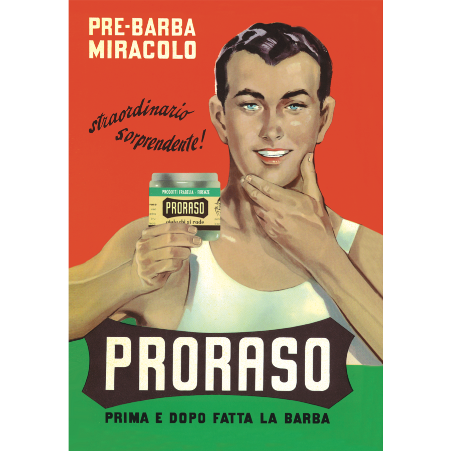 Proraso cadeauset Gino uit de vintage serie-3