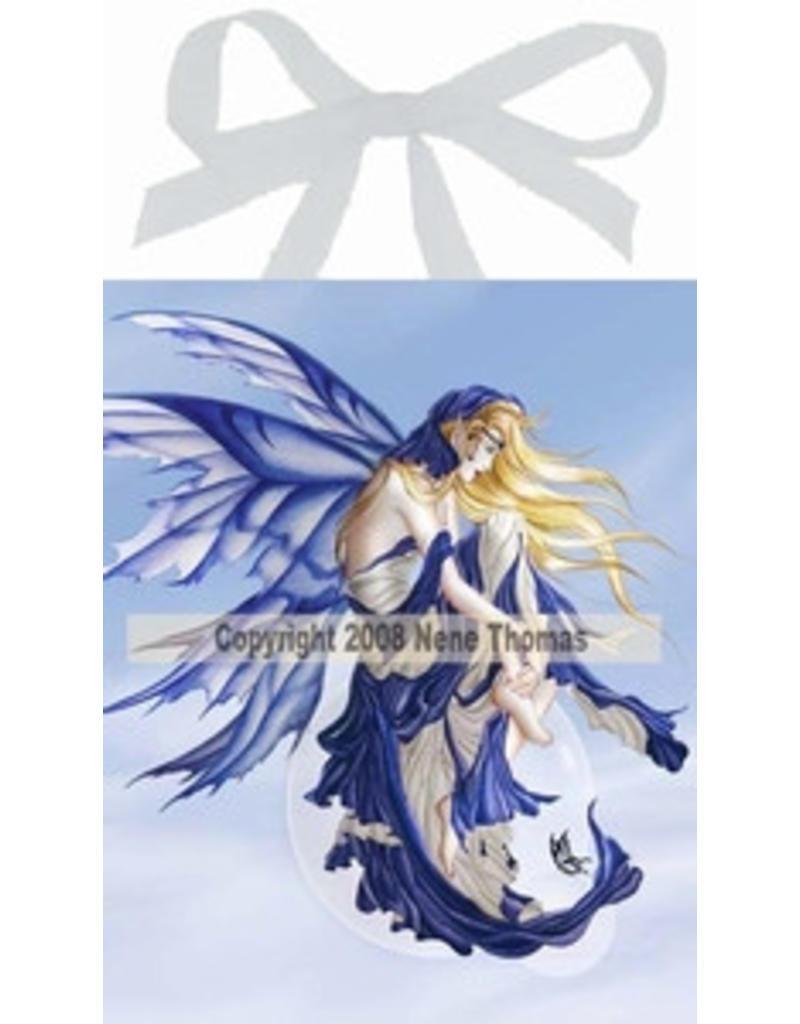 W.F. Peters Elfje wandtegel Blue Dream (by Nene Thomas)